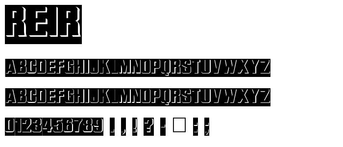Reir font