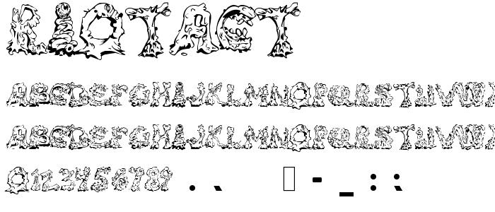 Riotact font