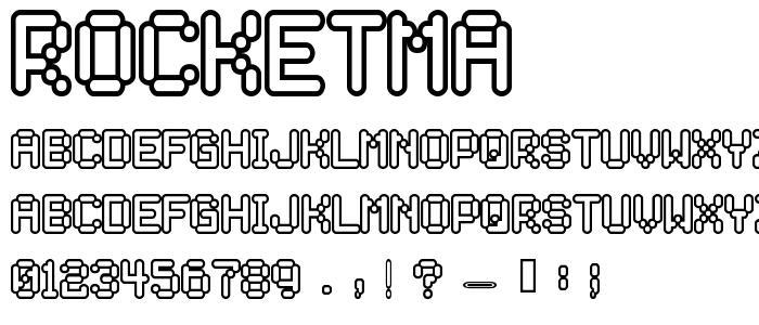 Rocketma font
