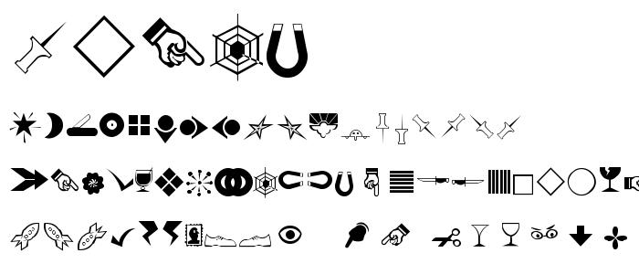 Rsbillsd font