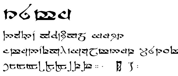 Rsmoroma font