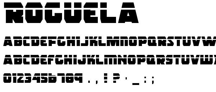 Roguela font