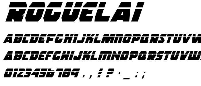 Roguelai font