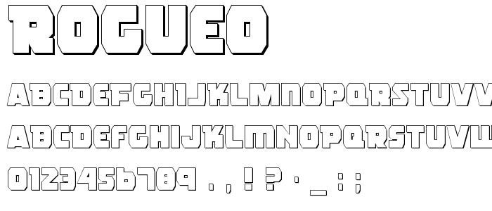 Rogueo font