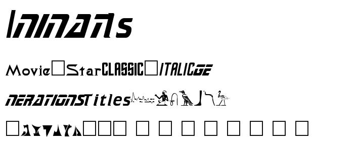 SAFADEMO.TTF font