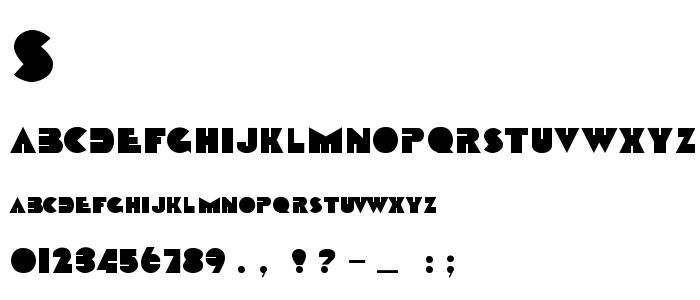 Sharktoo font