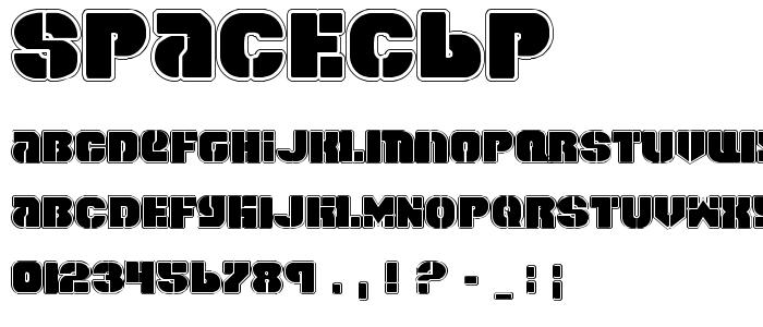 Spacec6p font