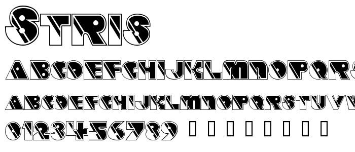STRIS___.TTF font