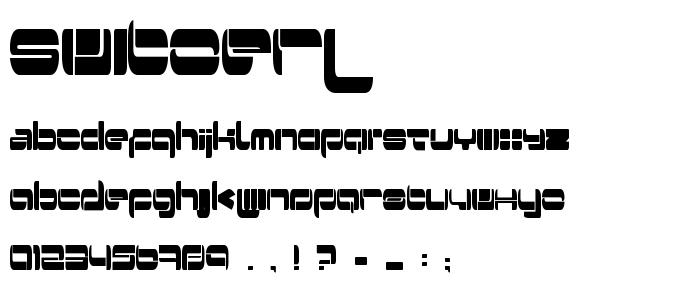 Switzerl font