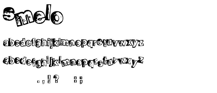 Smelo font