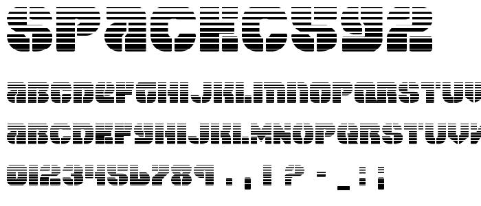 Spacec5g2 font