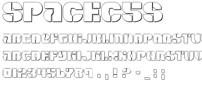 Spacec5s font