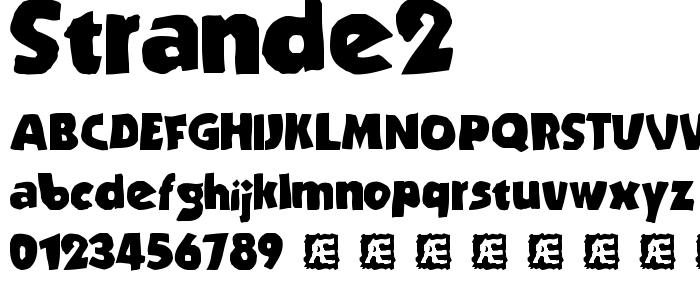 Strande2 font