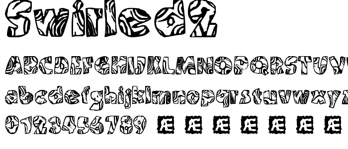 Swirled2 font