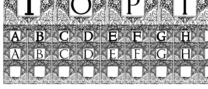 Topiary font
