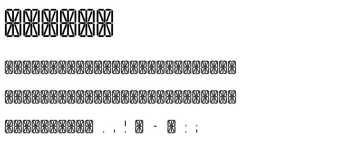 Tranga font