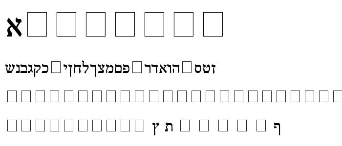 Treuvenn font