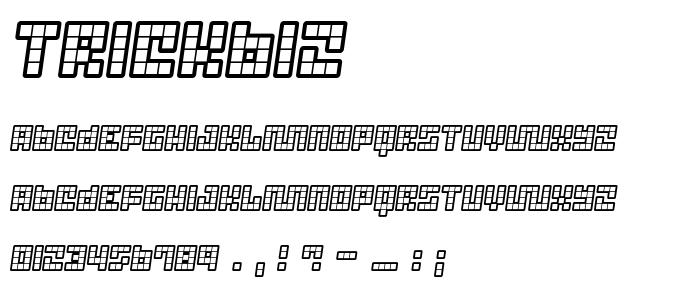 Trickb12 font