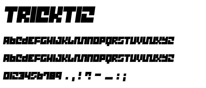 Trickt12 font