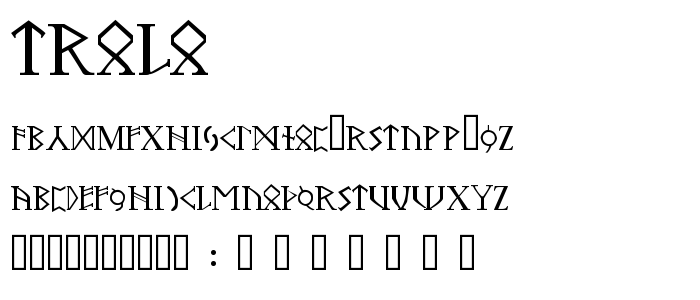 TROLO___.TTF font