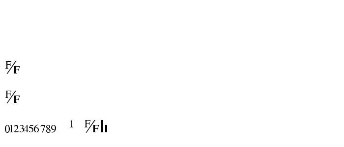 Ttglobef font