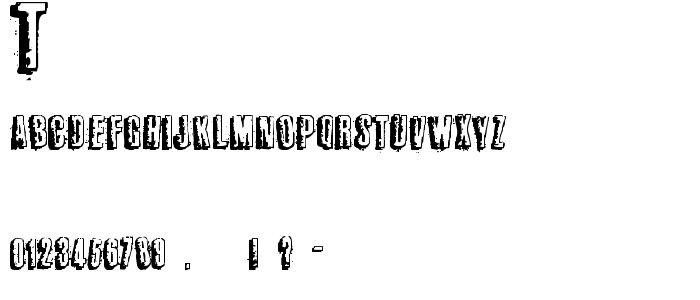 Tworldbuzz font