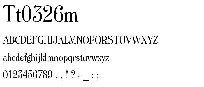 Tt0326m_.ttf font
