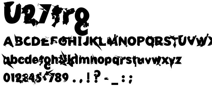 U27frg font