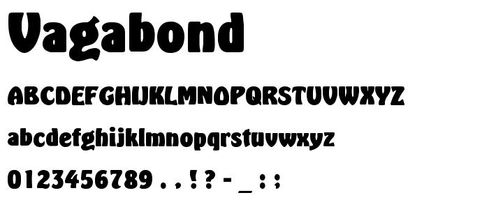 VAGABOND.TTF font