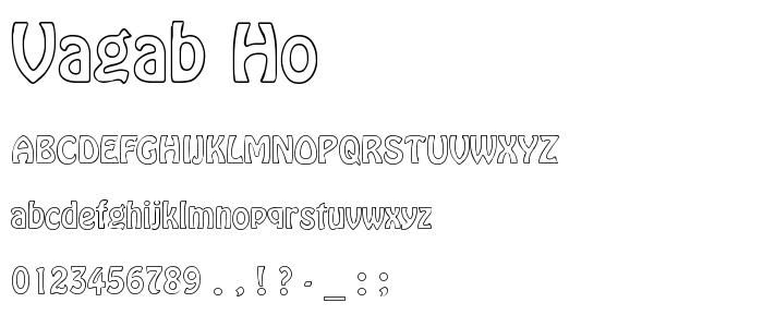 VAGAB_HO.TTF font