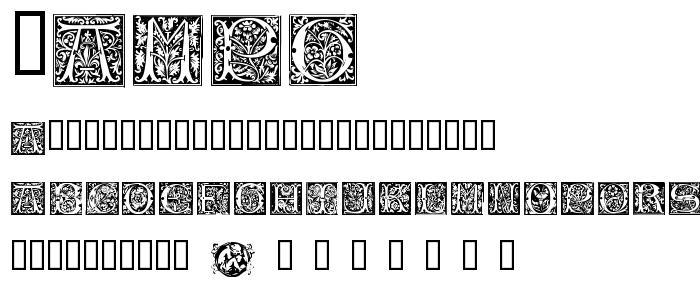 Vampg font