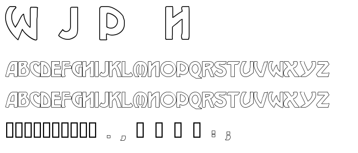 W_J_P__h.TTF font
