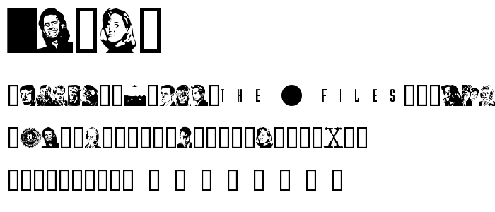 Xcast font