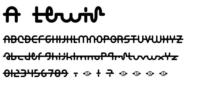 a_lewis.ttf font