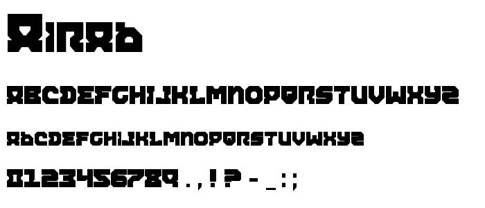 Airab font