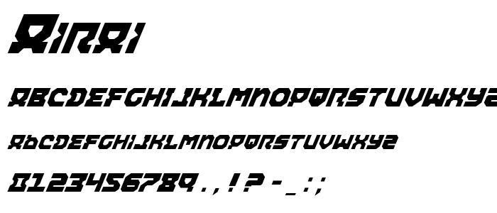 Airai font