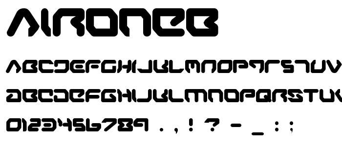 Aironeb font
