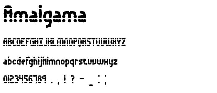 Amalgama font