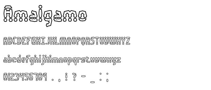 Amalgamo font
