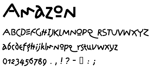 Amazon font
