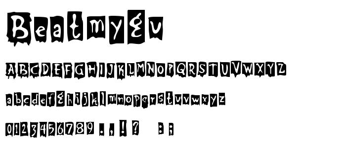 Beatmygu font