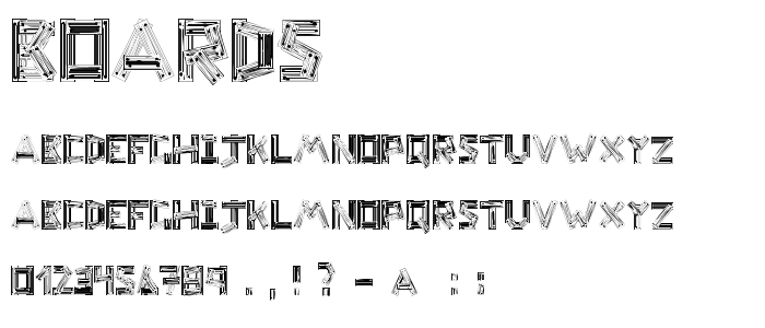Boards font