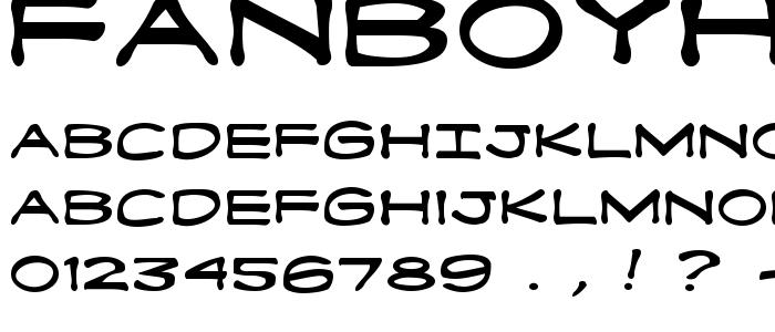 Fanboyhc font