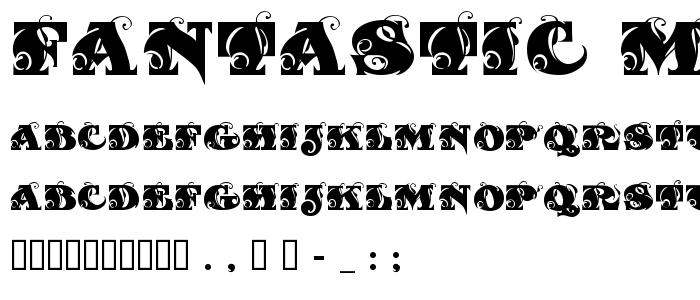 Fantastic Mf Initials Free Font Download - Font Supply