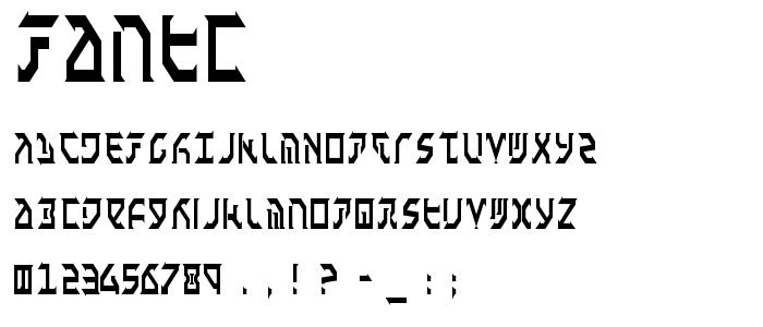 Fantc font