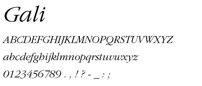 gali____.PFB font