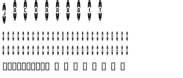 jackrabbit.ttf font