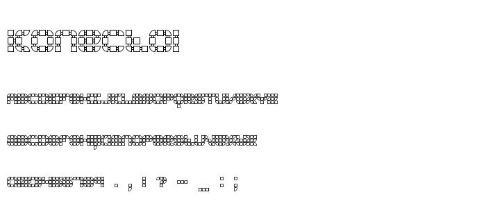 Konecto1 font