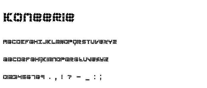 Koneerie font