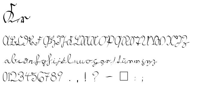 Kr font